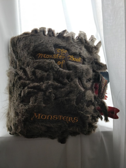 Monster Book of Monsters Cushion | Harry Potter The Noble Collection